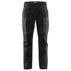Pantalon service stretch femme - 9900 Noir - Blaklader