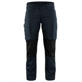 Pantalon service stretch femme - 8699 Marine foncé/Noir - Blaklader
