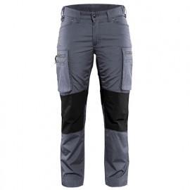 Pantalon service stretch femme - 9499 Gris/Noir - Blaklader