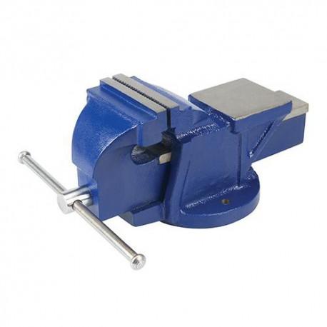 Étau d'ingénieur 8 kg, serrage max 100 mm - 633742 - Silverline
