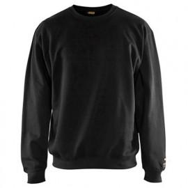 Veste tricotée enfant - 9056 Gris chiné/rouge - Blaklader