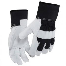 Gants artisan cuir - pack x 12 - 9910 Noir/Blanc 22783900 - Blaklader