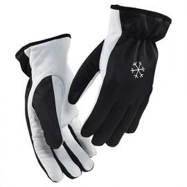 Gants artisan doublés - 9910 Noir/Blanc 22873910 - Blaklader