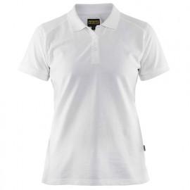 Polo femme - 1000 Blanc 33901050 - Blaklader