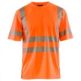 T-shirt anti-UV haute-visibilité - 5300 Orange fluo 34201013 - Blaklader