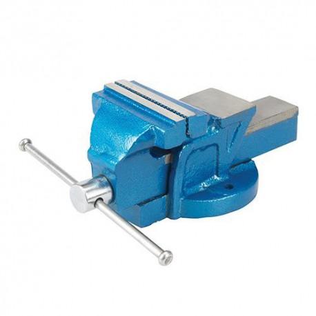 Étau d'ingénieur 4,5 kg, serrage max 100 mm - 633792 - Silverline