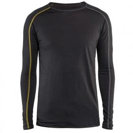 Haut de sous-vêtements XLIGHT - 9835 Gris Foncé/Jaune 47991734 - Blaklader