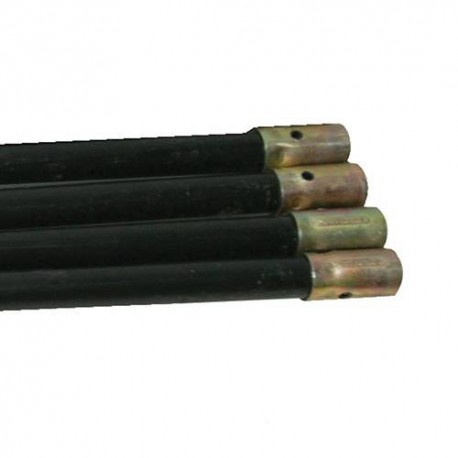 4 rallonges de cannes de ramonage/curage L. 920mm - 633826 - Silverline