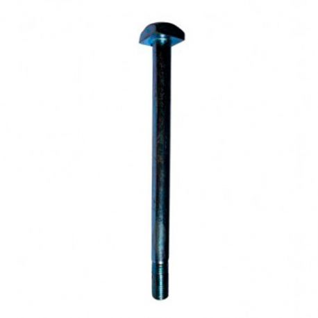 Boulon charpente bois tête carrée 14 x 160 mm Zingué - Boite de 50 pcs - Diamwood BC1416002B