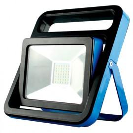 Projecteur de chantier LED mobile filaire 20W 230V - 1500 Lm. 6500 K. IP65 - 599066 - Fox Light