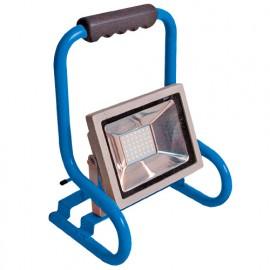 Projecteur de chantier LED mobile filaire 30W 230V - 2250 Lm. 6500K. IP65 - 3045 - Fox Light