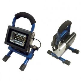Projecteur de chantier 10W sur batterie 5V 8000mA - 600 Lm. 6500K. IP54 - 599196 - Fox Light