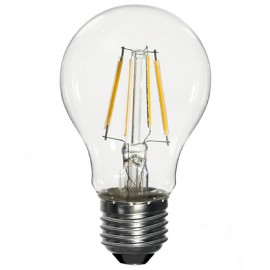 Ampoule LED-S19 Filament (compatible avec variateur) A60 E27 6.5W 230V 360° - 60W 2700K 806Lm - 2010 - Fox Light