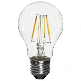 Ampoule LED-S19 Filament (compatible avec variateur) A60 E27 6.5W 230V 360° - 60W 2700K 806Lm - 2010 - Fox Light