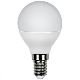 Ampoule LED-S11 Sphérique G45 E14 6W 230V - 40W 3000K 470Lm - 600724 - Fox Light