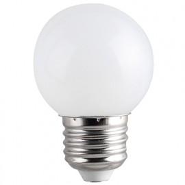 Ampoule LED pour guirlande type guinguette 1W G45 E27 Blanche - 600939 - Fox Light