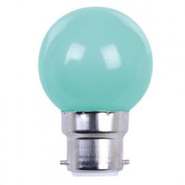 Ampoule LED pour guirlande type guinguette 1W G45 B22 Verte - 2007 - Fox Light