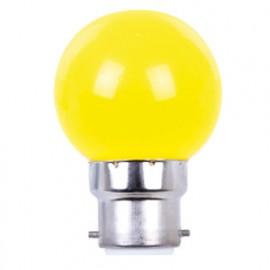 Ampoule LED pour guirlande type guinguette 1W G45 B22 Jaune - 2008 - Fox Light