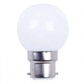 Ampoule LED pour guirlande type guinguette 1W G45 B22 Blanche - 2009 - Fox Light