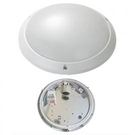 Hublot anti-vandale Douille E27 Détecteur ultrasonique Merrytek - Angle de diffusion 120° IK10 IP54 240V - 3048 - Fox Light