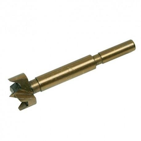 Mèche à façonner type Forstner TiN D. 26 mm - 656580 - Silverline
