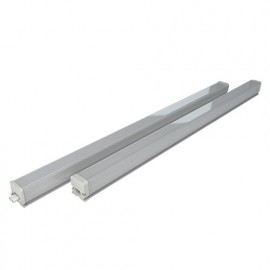 Réglette LED carrée connectable 9W 0,60M 750Lm 4000K Angle de diffusion 120° IP54 240V - 601547 - Fox Light