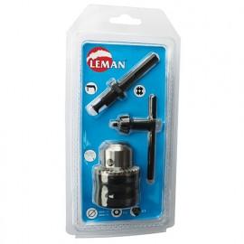 Kit mandrin + clé + adaptateur SDS+/SPIT - 913.003 - Leman