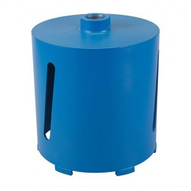 Couronne diamantée perforateur D. 117 pour matériaux de construction Lu 150 mm - 675057 - Silverline
