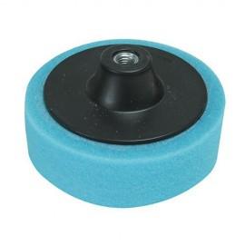 Éponge de polissage bleue D. 150 x 38 mm M14 tendre - 675060 - Silverline