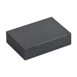 Eponge abrasive corindon support en mousse Fin et moyen - 675085 - Silverline