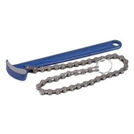 Clé à chaîne pour filtre à huile 150 mm - 675121 - Silverline