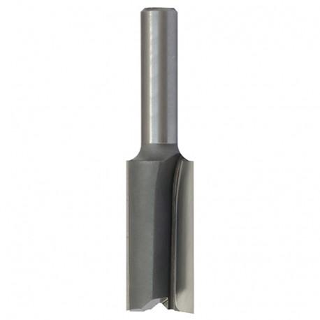 Mèche à rainer droite HM micrograin D. 19 mm L.U. 19 mm L.T. 51 mm Q. 8 mm - 508.719.00 - Leman