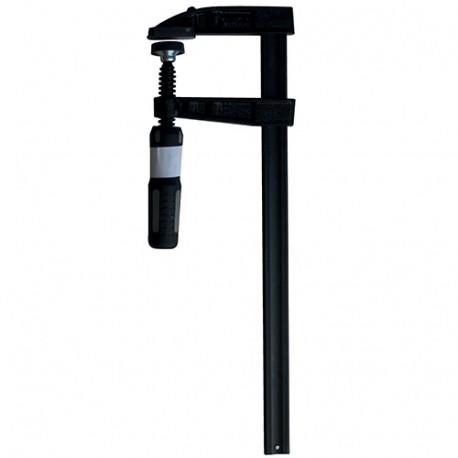 Serre-joint à manche saillie 50 mm - section 15 x 5 mm - L. 150 mm - 7050.155.015 - Leman