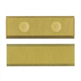 Plaquette 30 x 10 x 1,5mm (4 coupes). réversible crochet au titane D. 14 à 22 mm - 800.301.01TIN - Leman