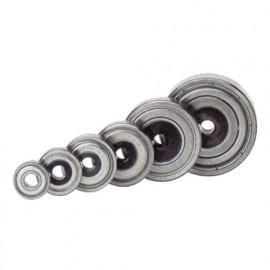 Roulement pour mèches de défonceuse D. 12,7 mm Al. 8 mm - 890.002.10 - Leman