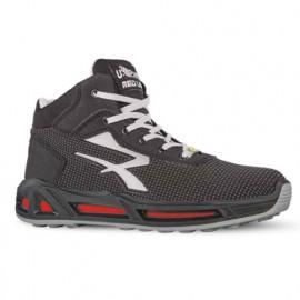 Chaussures de sécurité hautes STEGO CARPET S3 CI SRC ESD - Gris - RED CARPET RC10376 - U-Power