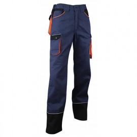 Pantalon de travail zéro métal rétro-réfléchissant - Gamme Dynamics - HERSE - MARINE-NOIR-ORANGE - 1257 - LMA Lebeurre