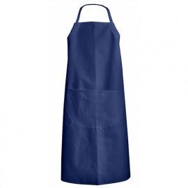 Tablier de jardin ou cuisinier coton avec hauteur réglable - Gamme Tabliers - RADIS - BLEU HYDRONE - 700040 - LMA Lebeurre