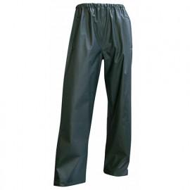 Pantalon de pluie en semi PU imperméable EN 343 et EN 13688 - Gamme Top Pluie - TONNERRE - KAKI FONCE - 1252 - LMA Lebeurre