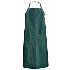 Tablier de jardin ou cuisinier avec hauteur réglable - Gamme Tabliers - CRESSON - VERT US - 700017 - LMA Lebeurre