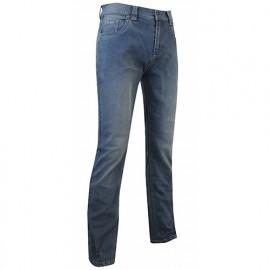 Jeans de travail extensible à poches Western et effet usé - Gamme Jeans - BITUME - DENIM - 1497 - LMA Lebeurre