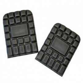 Paire de genouillères en mousse 100% polyéthylène - Gamme accessoires - NICKEL - NOIR - 9921 - LMA Lebeurre