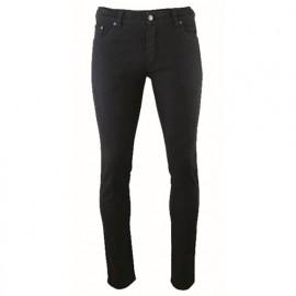 Pantalon de travail sergé avec 6 poches et coupe ajustée - Gamme jeans - BRESIL - NOIR - 1608 - LMA Lebeurre