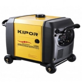 Groupe électrogène thermique Inverter 2800W 2 x 230V moteur essence 4 temps 4000W - Kipor Sinemaster IG3000 - 441444 - Eurom
