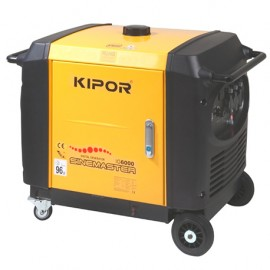 Groupe électrogène thermique Inverter 5500W 3 x 230V moteur essence 4 temps 7700W - Kipor Sinemaster IG6000 - 441451 - Eurom