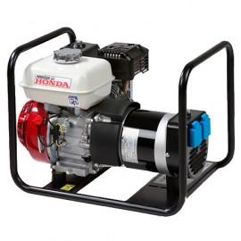 Groupe électrogène thermique 3000W 2 x 230V moteur essence 4 temps 4100W Honda GX200 - HM4001 - 449044 - Eurom