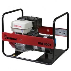Groupe électrogène thermique 6000W 2 x 230V moteur essence 4 temps 8700W Honda GX390 - HM8001 - 449082 - Eurom