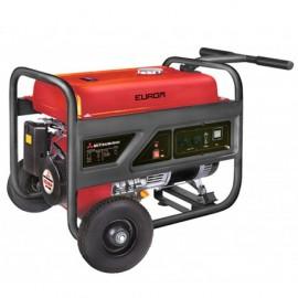 Groupe électrogène thermique AVR 3800W 2 x 230V moteur essence 4 temps 7400W Mitsubishi GT 1000 - MM5500 - 449259 - Eurom