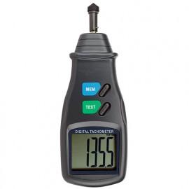 Tachymètre digital avec Contact de 5 à 20 000 RPM - 22235 - D-Work