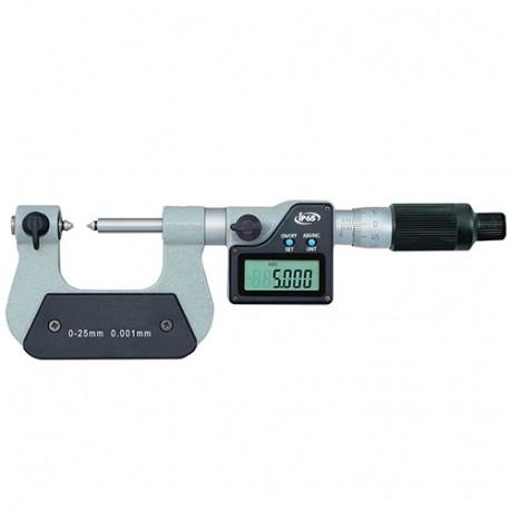 Micromètre digital de filetage. De 25 à 50 mm. Etanche IP65 - 526301 - D-Work